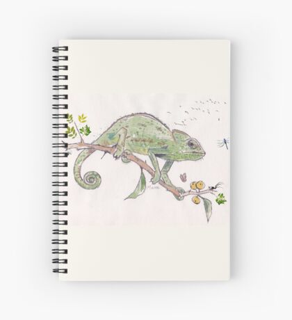 The colourful world of Chameleons Spiral Notebook
