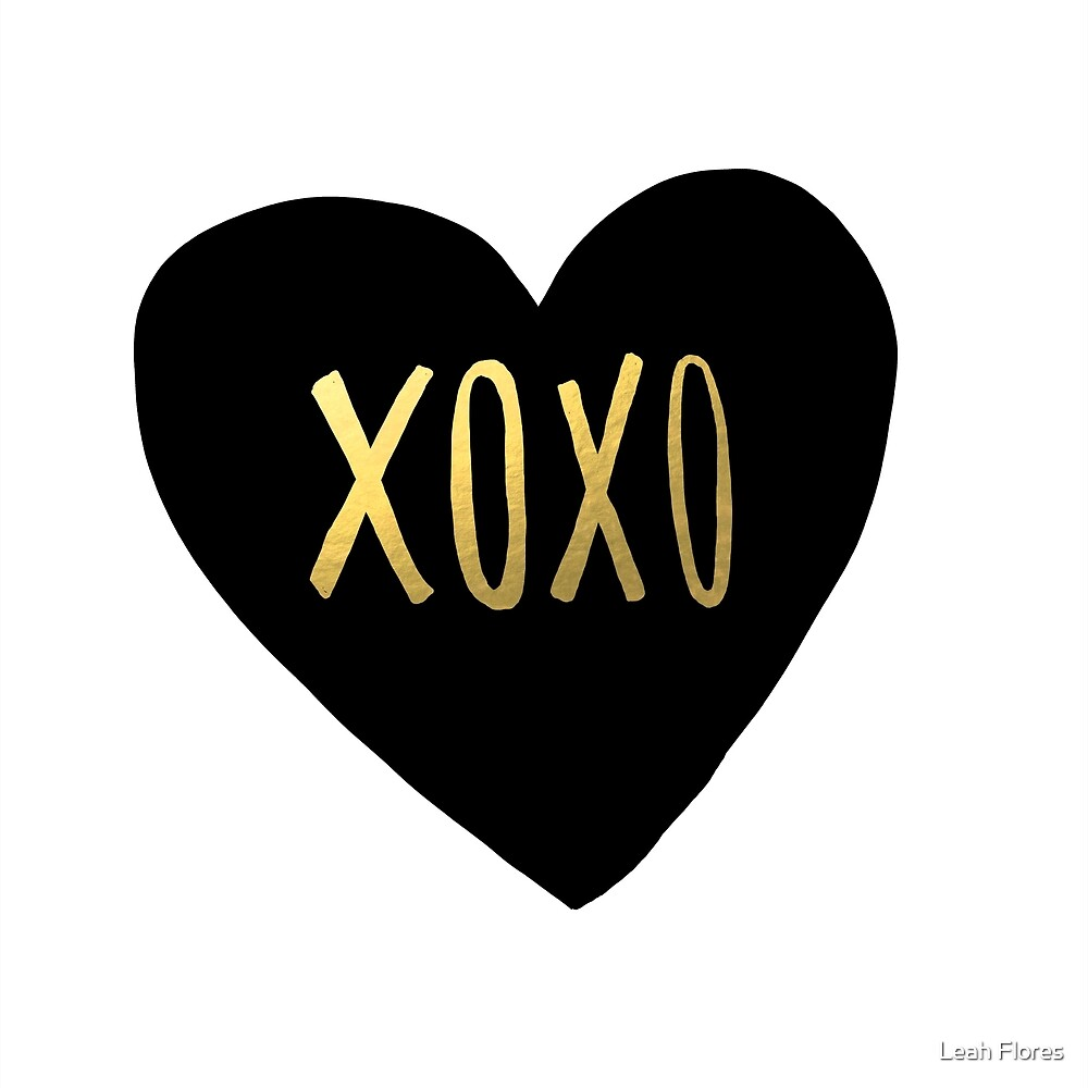 XOXO by Leah Flores