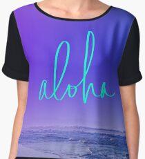 Aloha Women's Chiffon Top