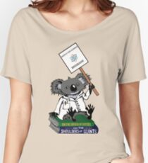 March for Science Brisbane – Koala, full color Women's Relaxed Fit T-Shirt