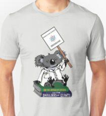 March for Science Brisbane – Koala, full color Unisex T-Shirt