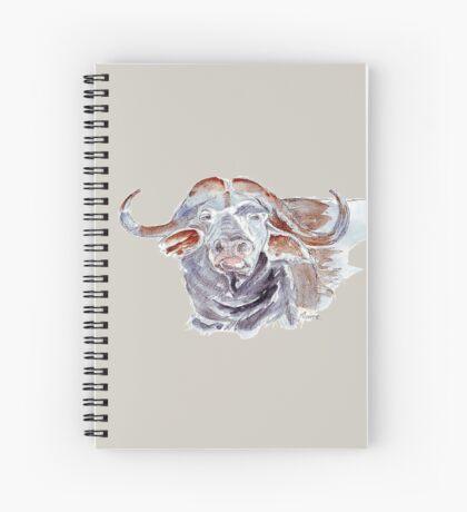 African buffalo or Cape buffalo (Syncerus caffer) Spiral Notebook