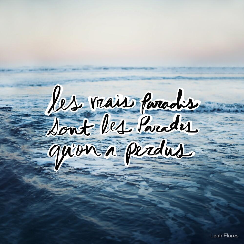 Paradis by Leah Flores