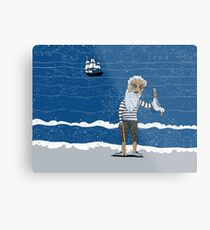 The Ancient Mariner Metal Print