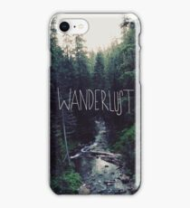 Wanderlust Rainier Creek iPhone Case/Skin