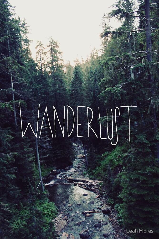 Wanderlust Rainier Creek by Leah Flores