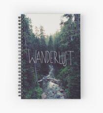 Wanderlust Rainier Creek Spiral Notebook