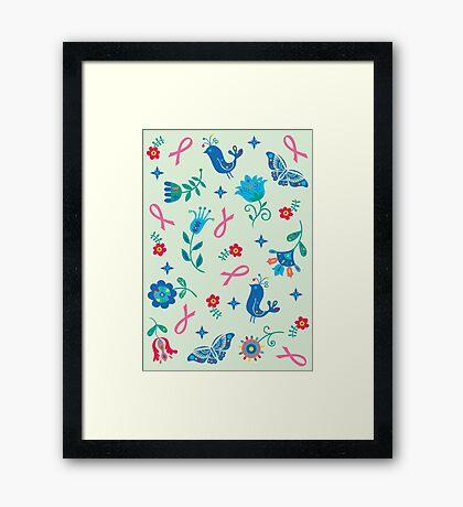Breast Cancer Hope Framed Print