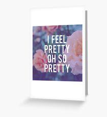 Oh, So Pretty! Greeting Card