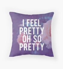 Oh, So Pretty! Throw Pillow