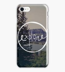 Explore Oregon iPhone Case/Skin