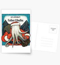 Father Cthulhu Postcards