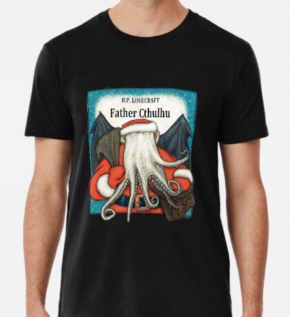 Father Cthulhu Premium T-Shirt