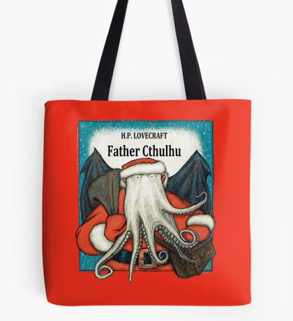 Father Cthulhu Tote Bag