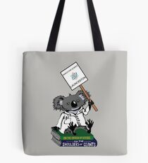 March for Science Launceston – Koala, full color Tote Bag