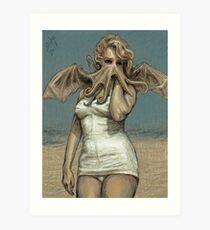 """Call of Cthulyn, 2014""  Art Print"