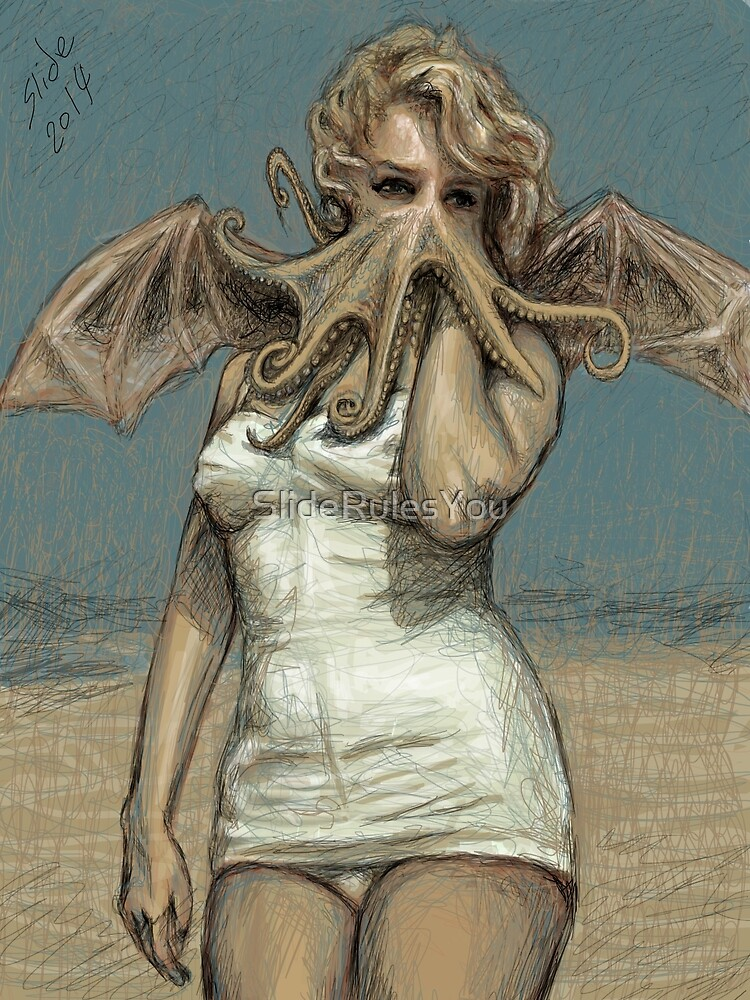 """""""Call of Cthulyn, 2014""""  by SlideRulesYou"""
