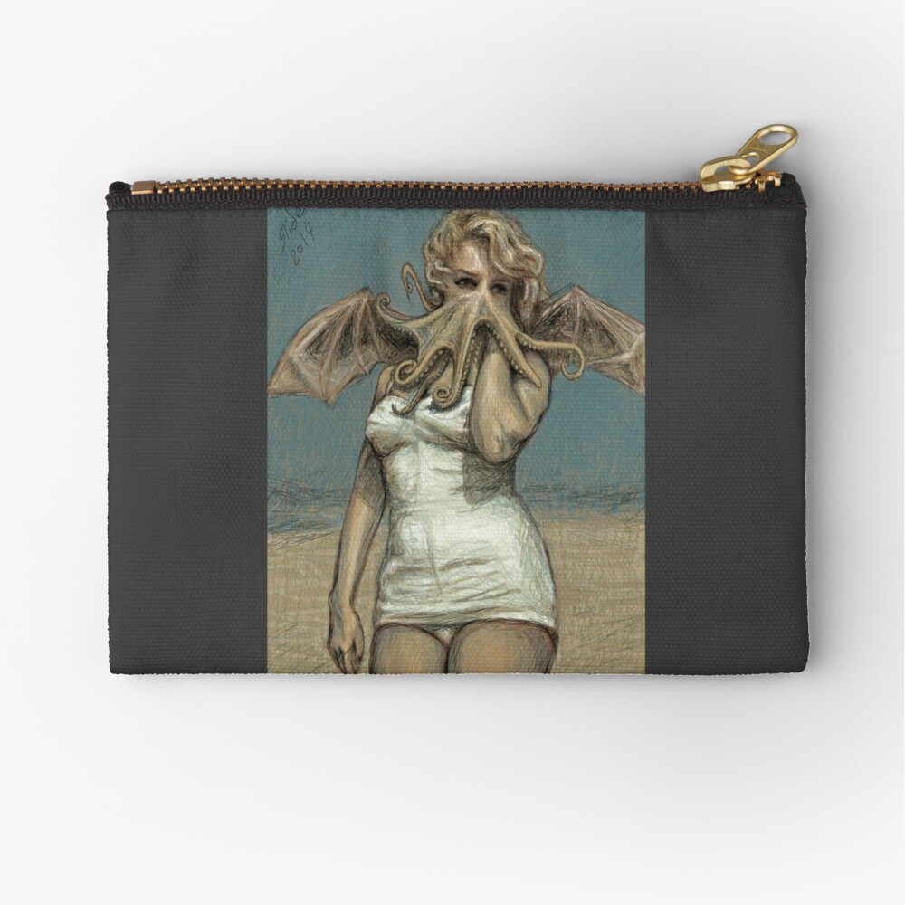 """""""Call of Cthulyn, 2014""""  Zipper Pouch"""
