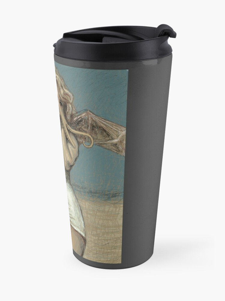 "Alternate view of ""Call of Cthulyn, 2014""  Travel Mug"