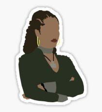 Kendra The Vampire Slayer Sticker