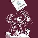 March for Science Australia – Koala, white by sciencemarchau