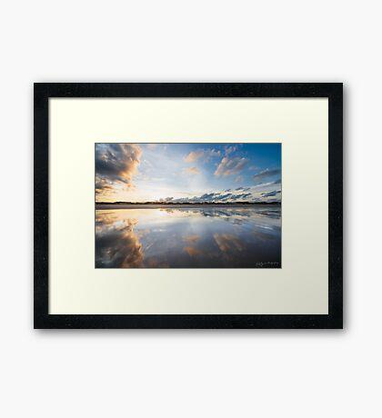 Wet Season Sunrise Framed Print