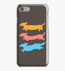 Run Doxies Run iPhone Case/Skin