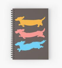 Run Doxies Run Spiral Notebook