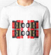 red classic car Unisex T-Shirt