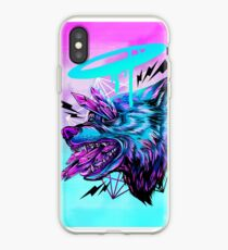 Crystal Wolf  iPhone Case