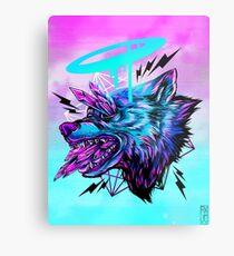Crystal Wolf  Metal Print