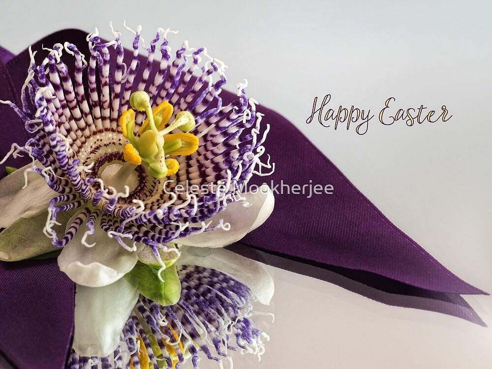 Passionsblume für Ostern von Celeste Mookherjee
