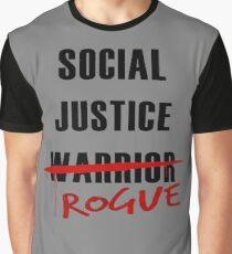 Social Justice Rogue Graphic T-Shirt