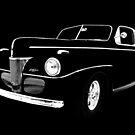 1941 Ford, Black on Black by JohnDSmith