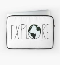 Explore the Globe Laptop Sleeve