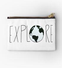 Explore the Globe Studio Pouch