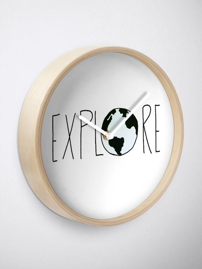 Alternate view of Explore the Globe Clock