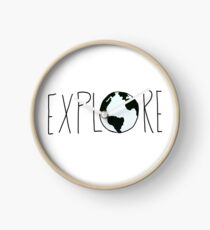 Explore the Globe Clock