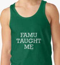 FAMU Taught Me Men's Tank Top