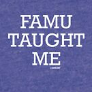 FAMU Taught Me by GraphicSnob