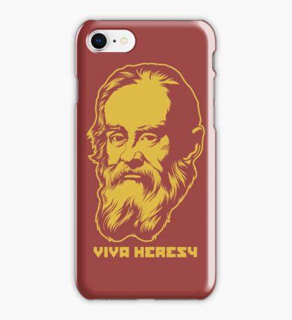 "Galileo ""Viva Heresy"" iPhone Case/Skin"