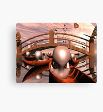 Aborted Thoughts Canvas Print