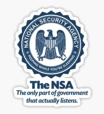 The NSA Sticker