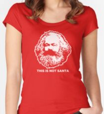 This Is Not Santa Women's Fitted Scoop T-Shirt