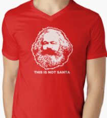 This Is Not Santa Men's V-Neck T-Shirt