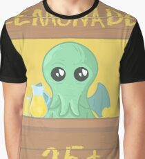 The Stall of Cthulhu Lemon 5 Graphic T-Shirt