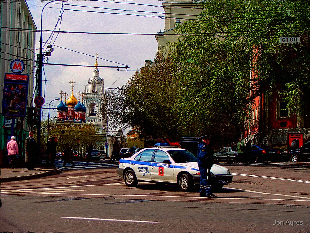 Around Moscow4f by Jon Ayres