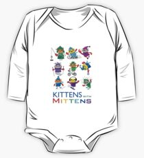 Kittens with Mittens One Piece - Long Sleeve