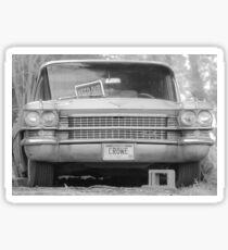 Vintage Cadillac Sticker