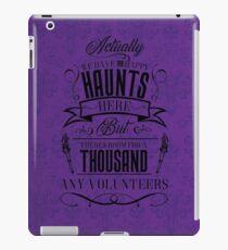 Haunted Mansion-Happy Haunts iPad Case/Skin